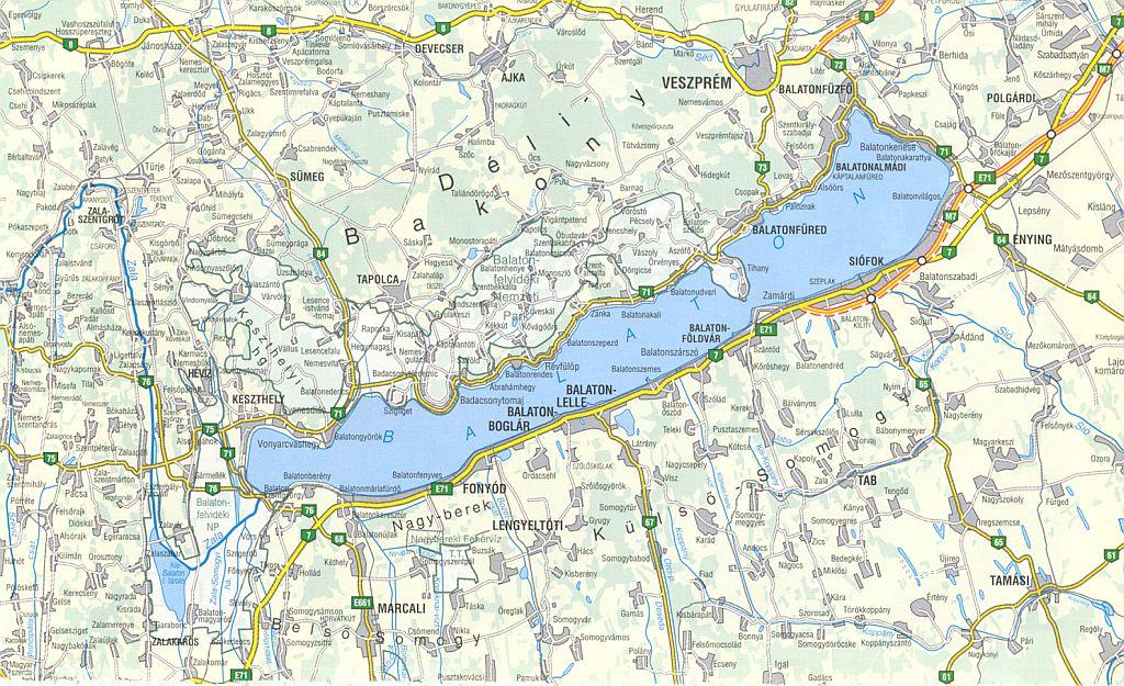 balaton térkép balatonlelle Nyaralás a Balaton déli partján   Mirabella Apartmanház, Balatonlelle balaton térkép balatonlelle